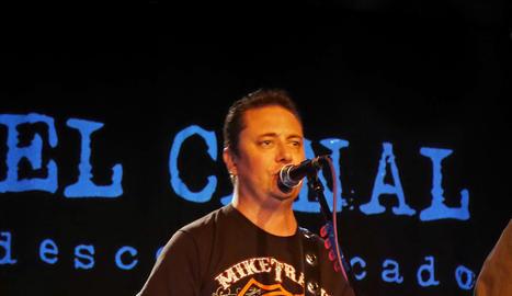 Josep Massip durant la presentació del seu últim disc.