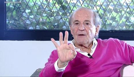 José María García, en una foto recent.