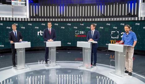 El debat a cinc serà el dia 4