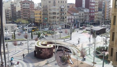 Plaça Ricard Viñes de Lleida