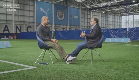Guardiola parlarà de futbol amb Ricard Torquemada a Esport3.