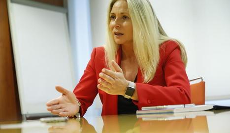 Burrel repeteix com a candidata per a Lleida al Congrés per Ciutadans.