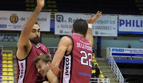 La defensa del Valladolid va ser insuperable per als lleidatans.