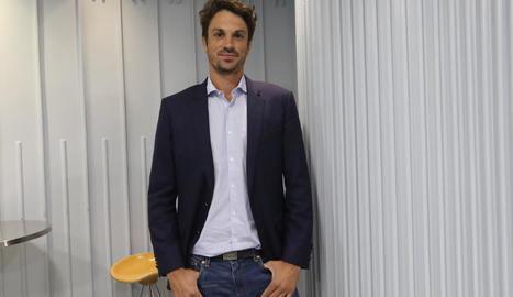 Dante Pérez, candidat del PP al Congrés dels Diputats per Lleida.
