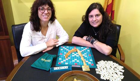 La targarina Arantxa Delgado, campiona mundial del joc de taula Scrabble