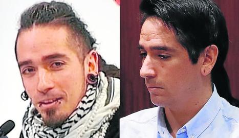 Radical canvi d'imatge de l'acusat, Rodrigo Lanza.