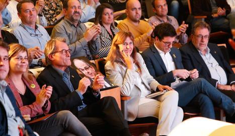 Amb la presència de Laura Borràs, cap de llista per Barcelona
