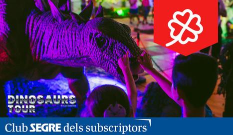 Arriba a Lleida la major exposició de dinosauris animatrònics a mida real.