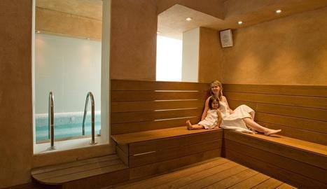 L'spa és ideal per relaxar-se i gaudir de diferents tractaments de fisioteràpia.