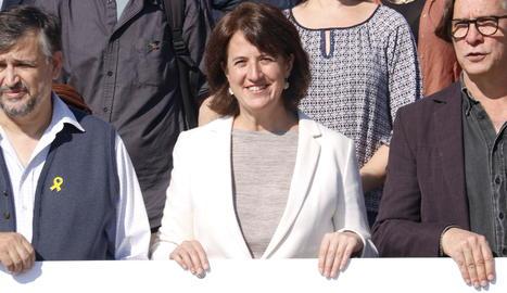 La presidenta de l'Assemblea Nacional Catalana (ANC), Elisenda Paluzie.