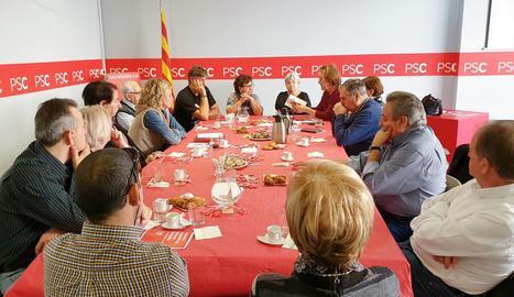 """""""Amb els socialistes pugen les pensions"""""""