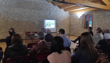 La presentació a la Floresta de l'estudi de la Fundació Món Rural.