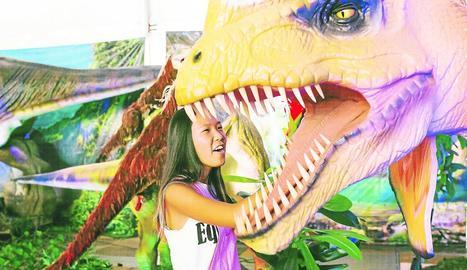 Lleida es converteix en 'Jurassic Park'