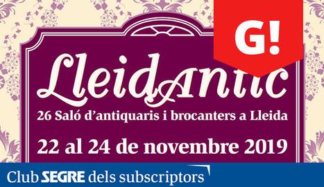 Arriba la 26a edició de la Fira Lleidantic, Lleidaretro i Trobada del disc al pavelló 3 de Fira de Lleida.