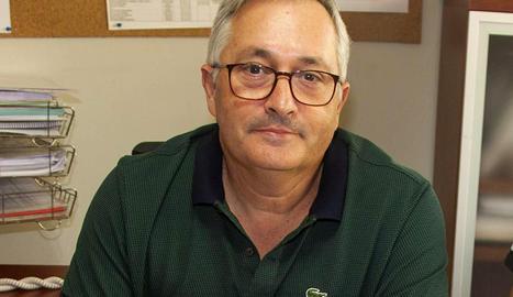 Pere Joan Villalonga va començar a treballar a l'Escola el 1994