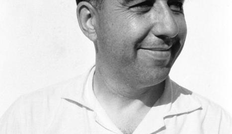 Josep durany. A la imatge del centre, Josep Durany, Pep de cal Benabella, que enguany compliria 100 anys.
