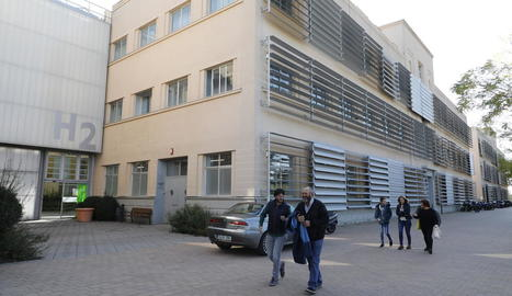 Una part dels edificis que formen el parc científic i tecnològic de Gardeny.