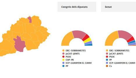 Les Garrigues vota ERC