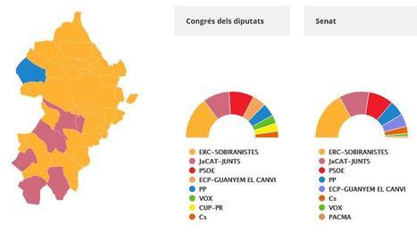 Victòria d'ERC al Segrià, on el PP guanya un municipi