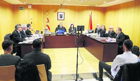 La vista oral del judici pel 'projecte pilla-pilla'.