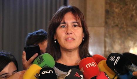 La líder de JxCat al Congrés, Laura Borràs.
