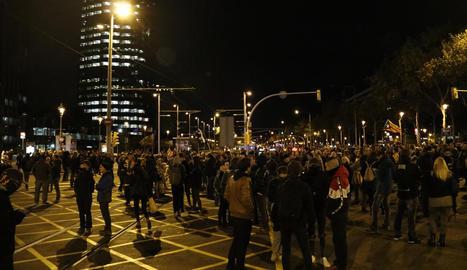 La protesta a Lleida va començar a Ricard Viñes, la manifestació va tallar el passeig de Ronda i es va traslladar a la delegació del Govern.