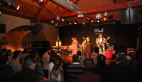 Concert al festival Mud el març passat al Cafè del Teatre.