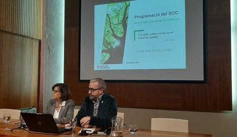 Garau i Ginesta van presentar a la Seu la programació del SOC.