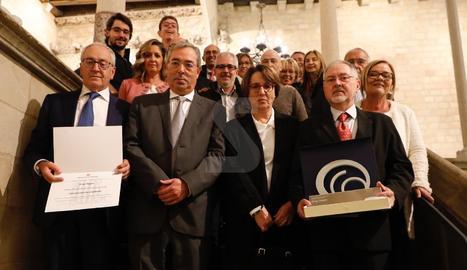 Lliurament del Premi Nacional de Comunicació a Grup Segre