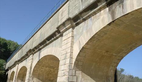 El Canal d'Aragó i Catalunya al coll de Foix.