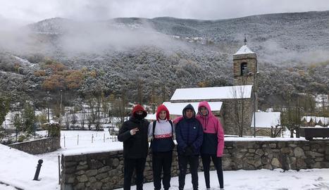 A Espot es van arribar a acumular fins a 35 centímetres de neu nova.