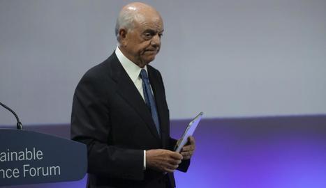 Imatge de l'expresident del BBVA Francisco González.