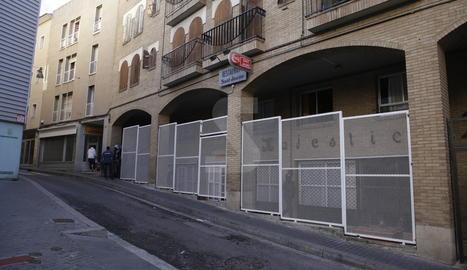 L'alberg Jericó, al Barri Antic de Lleida.