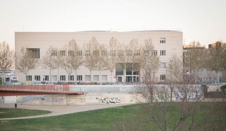 Un edifici del Campus de Cappont de la UdL.