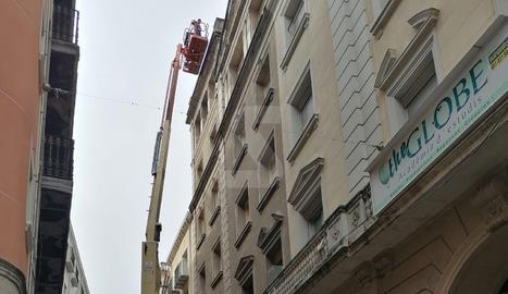 Obres a l'eObres a l'edifici del Teatre Principal de Lleidadifici del Teatre Principal de Lleida