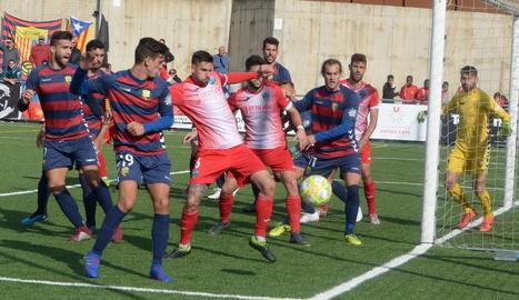 El Lleida perd a Llagostera (1-0) i li toca l'Espanyol a la Copa