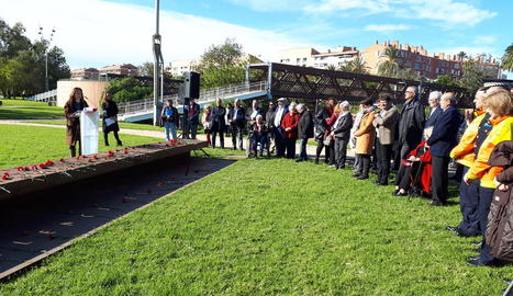 Barcelona va acollir ahir la commemoració del Dia Mundial en Record de les Víctimes de Trànsit.