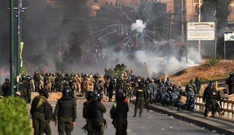 Les protestes a Bolívia ja han costat la vida d'almenys 16 persones.