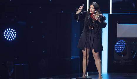 Rosalía, a la passada gala dels Grammy llatins.