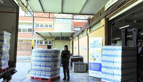 Donació de 100.000 litres de llet per part de Mercadona.