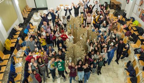 Compromís de 68 col·legis per aconseguir una Lleida més sostenible