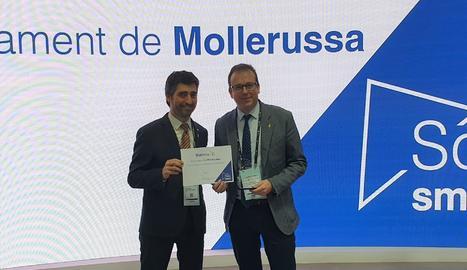 Mollerussa, primer municipi lleidatà distingit amb el segell  'Soc Smart'