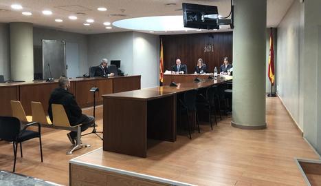El judici per conformitat es va celebrar ahir a l'Audiència de Lleida.