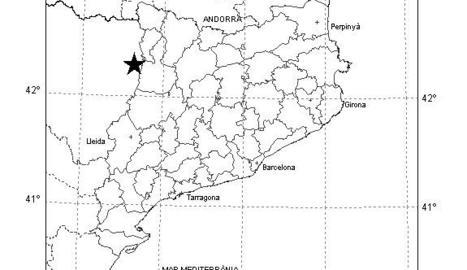 Un terratrèmol amb epicentre a Osca es percep sense danys a l'Alta Ribagorça