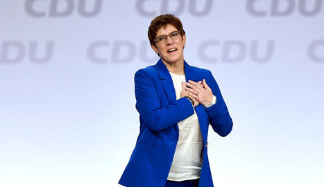 La presidenta del CDU, Annegret Kramp-Karrenbauer.