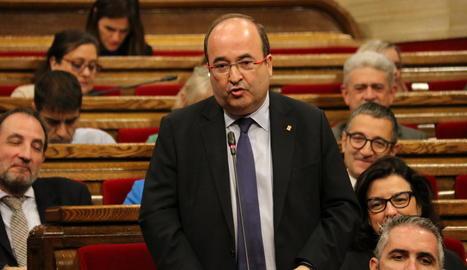 El secretari del PSC, Miquel Iceta, serà reelegit en el càrrec durant el congrés del desembre.