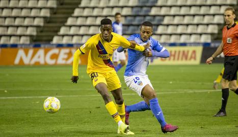 El Lleida no passa de l'empat davant del Barça B (1-1)