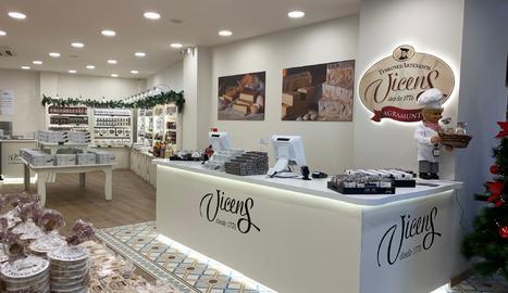 Torrons Vicens obre a Madrid la seua botiga més gran del món