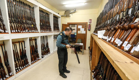 Les armes estan exposades durant tota aquesta setmana.