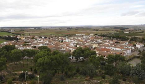 Vista general de la localitat de Sucs.